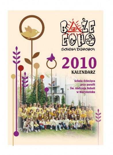 strona tutułowa naszego nowego pięknego kalendarza :)