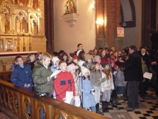Na uroczystej Mszy Św. w naszej katedrze...