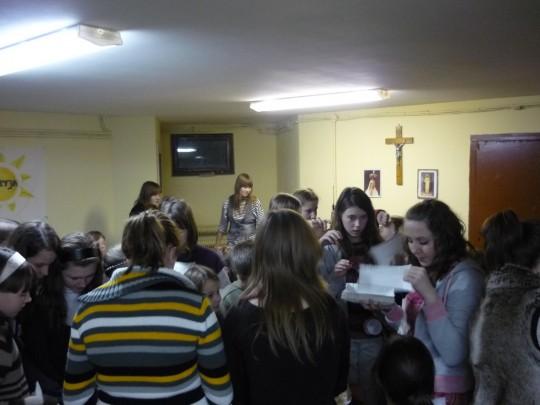 impreza się właśnie rozkręcała... :)
